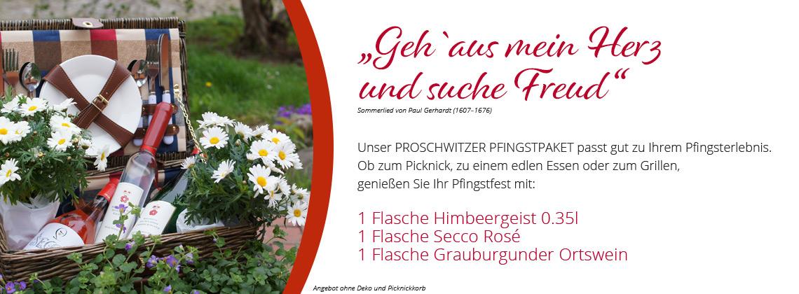 Proschwitzer Pfingspaket