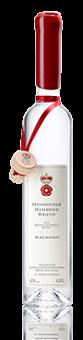 Meissener Himbeerbrand  durch Mazeration und Destillation gewonnen, 42 %vol., 0,35 l