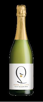 Prinz zur Lippe Cuvée Alexandra Sekt b. A., brut, klassische Flaschengärung